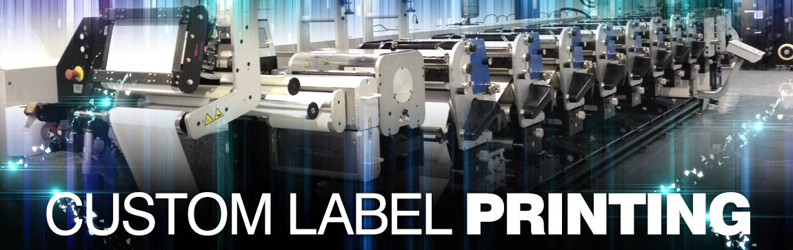Custom Labels done On-Site!
